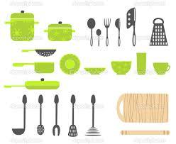 kitchen utensil: kitchen utensils vector by flowerstock depositphotos  stock illustration kitchen utensils