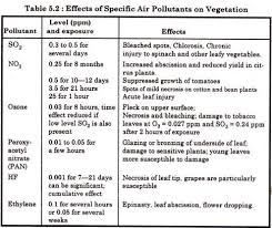 air pollution essay on the effects of air pollution on human  effects of specific air pollutants on vegetation