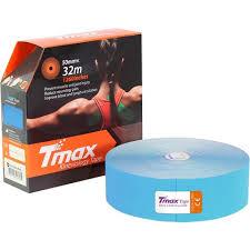 <b>Тейп кинезиологический Tmax 32m</b> Extra Sticky Blue (5 см x 32 м ...