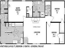 x double wide homes floor plans   Modern Modular Home    clayton double wide mobile homes floor plans