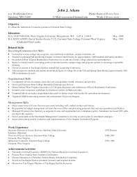 Resume Sample Skills  skills and abilities on resume examples     happytom co