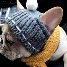 Winter <b>Dog Cap Christmas Pet Hats Dog Accessories</b> Woolen ...