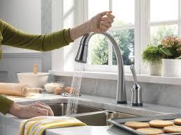 Delta Touch Kitchen Faucet Kitchen Faucets Bath Shower Modern Delta Touch Faucet For