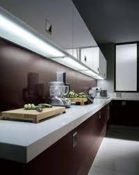 simple puck lights cabinet lighting modern kitchen