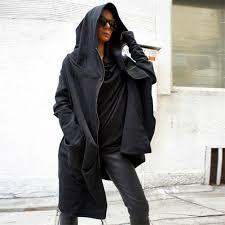 2019 <b>Autumn Spring Women</b> Casual Long Zipper Hooded Coat ...
