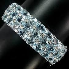 Природный <b>ТОПАЗ SWISS</b> BLUE, <b>золото</b>, <b>серебро</b>, <b>БРАСЛЕТ</b> ...