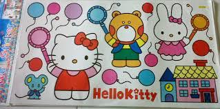 jual stiker tembok hello kitty: Stiker dinding murah shopping land