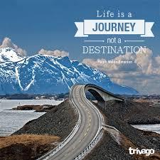 Image result for journey not destination