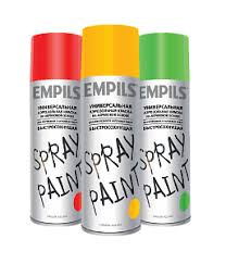 <b>SPRAY</b> PAINT <b>Аэрозольная</b> краска на акриловой основе