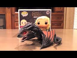 Daenerys and Drogon (<b>Game</b> of Thrones) <b>Funko POP</b>! <b>Rides</b> #15 ...