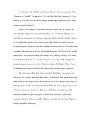 the vietnam war essay   american soldier is asking the dead french   pages american soldiers and the filipinos essay