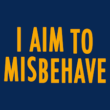 <b>I Aim To Misbehave</b> T-Shirt | SnorgTees