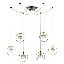 Светильник подвесной <b>Lumion</b> YANNIC <b>4416/6</b> купить в Москве ...