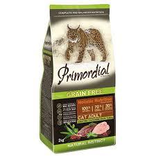 <b>Корм</b> для кошек <b>PRIMORDIAL</b> беззерновой утка, индейка