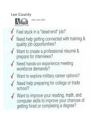 lee county adult education information lee county school lcae info