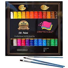Oil Paints Set <b>24 Colors Premium</b> Quality Oil <b>Painting</b> Kit for Artist ...