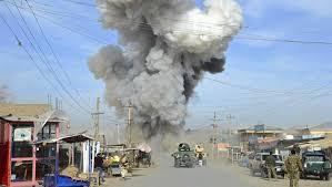 Image result for حمله طالبان به مرکز فرماندهی پلیس هلمند
