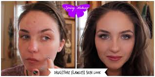 acne transformation makeup how i cover my acne pimples redness and scars
