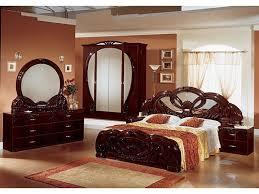 stylish italian mahogany high gloss bedroom furniture set bedroom italian furniture