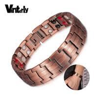 Men Copper <b>Magnetic Bracelets</b> Australia | New Featured Men ...