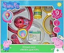 <b>Игровой набор</b> доктора <b>Peppa Pig</b> Пеппа 9 пр - купить в Москве ...