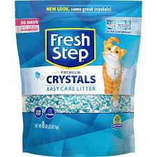 Fresh <b>Steps</b> Fresh Scented Non-Clumping <b>Crystal Cat</b> Litter, 8-lb bag