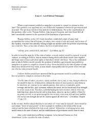 essay 4 social contract john locke