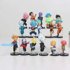 16pcs/<b>set Dragon Ball</b> Z Kai Figure Super Saiyan <b>3</b> Vegeta Goku ...