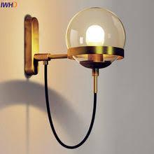 <b>nordic copper led</b> wall lamp