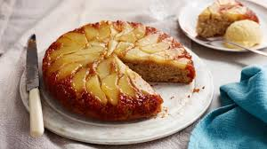 Ginger and <b>pear upside</b>-<b>down</b> cake recipe - BBC Food