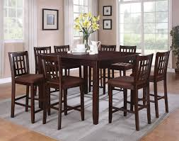 dining room pub style sets: dining room  pieces pub style dining sets with black painted color