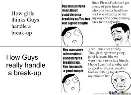 Breaking Up; Relationship; Best Friend; Yao Ming; Funny; Rage ... via Relatably.com