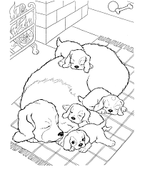 Small Picture Free Printable Dog Coloring Pages For Kids