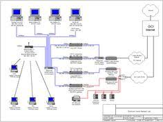 larger on pinteresthome wired network diagram