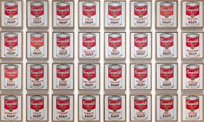 <b>Andy Warhol</b>. Campbell's Soup Cans. 1962   MoMA