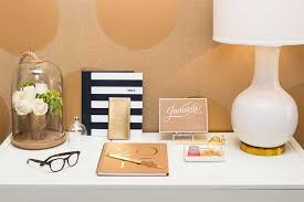 in the spirit of creating the dream desk shukov gave thr five quick tips to help spruce up any office space 1 if its on your desk it has to be one chic office desk