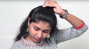 <b>Easy</b> and <b>simple</b> self Hair style for ladies Self hairstyle tutorial ...