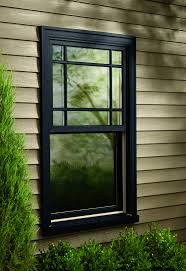 Black Window Sashes  Can I Pull It Off - Black window frames for new modern exterior