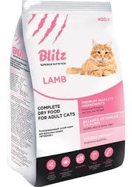 <b>Сухие корма</b> Блиц (<b>BLITZ</b>) для кошек и собак