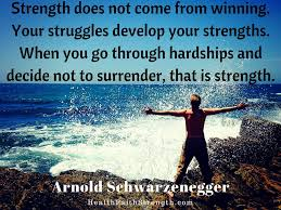 faith inspired pin worthy pictures from health faith strength strength does not come from winning your struggles develop your strengths when you go