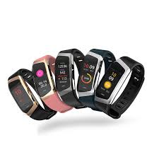 e18 smart bracelet color screen sport fitness bracele gps blood pressure heart rate monitoring ip67 waterproof for android ios