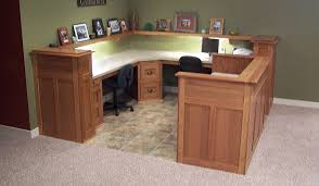 basement office design photo click to view larger photo of quality built in oak dual desks basement office design