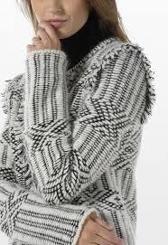 FANCY JACQUARD JACKET | <b>Stefanel</b> -- Knit weaving on a bulky ...