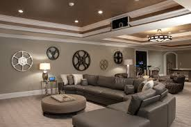 room design ideas basement stupendous movie reel decor decorating ideas images in basement contem