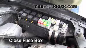 replace a fuse 2001 2004 ford escape 2004 ford escape limited Diagram Of A 2004 Ford Escape Fuse Box 6 replace cover secure the cover and test component 2004 ford escape fuse box diagram