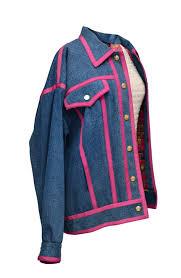 F/W 1991 Runway <b>Denim Bomber</b> Jacket – Tab <b>Vintage</b>