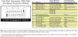 ford taurus wiring diagram radio ford wiring diagrams online