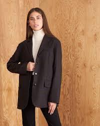 <b>Пиджак классический</b> с объемными плечами в интернет ...