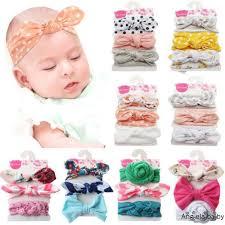 ღ  <b>3 Pcs</b>/<b>Set Kids</b> Baby Girls Bow Knot Headband <b>Children</b> Hair ...