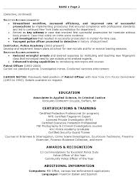 resume sample    security law enforcement professional resume    resume sample   law enforcement professional page
